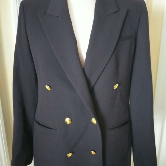 Austin Reed Jackets Coats Austin Reed Double Breasted Blazer Navy Size 8 Poshmark
